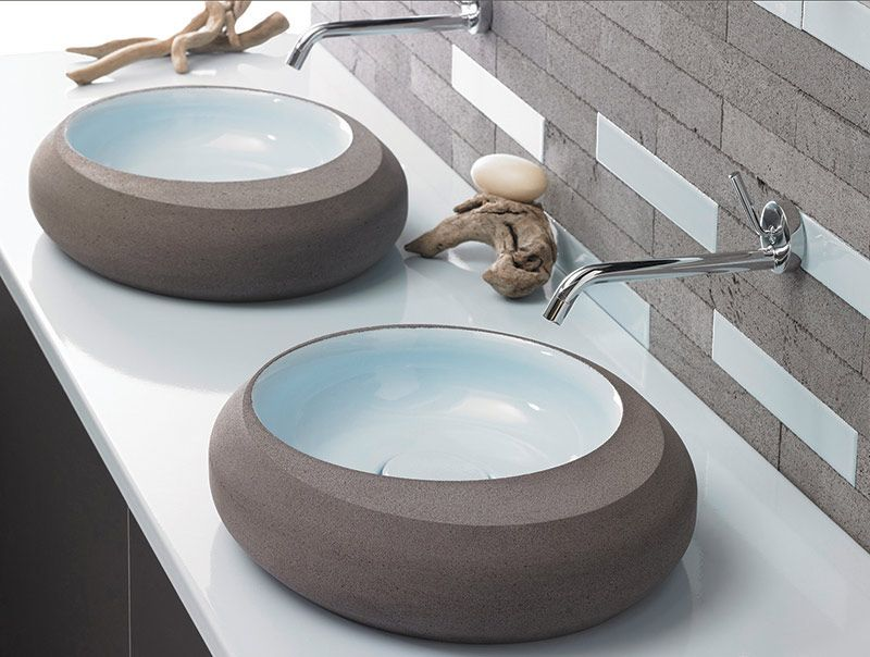 pyrolave double basins