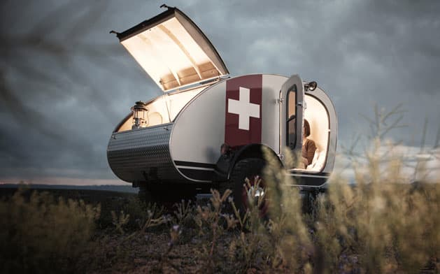 teardrop caravans design pop up
