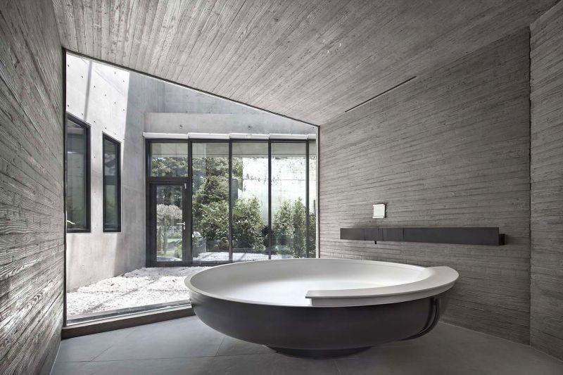 AAWH Residence bathroom zen design
