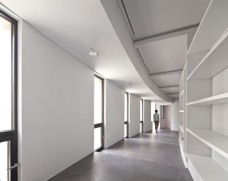 AAWH Residence hallway windows