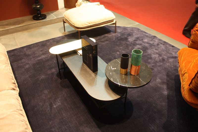 A Connected Set Of Smaller Pieces Makes For An Interesting And Functional Coffee  Table From U0026Tradition