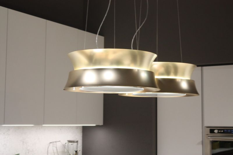 If shine and glitz are more your style, these pendants are used in a pair by Ar-Tre for kitchen island lighting.
