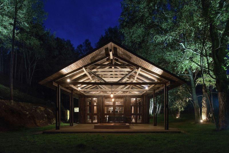 Barn House at Lake Ranco