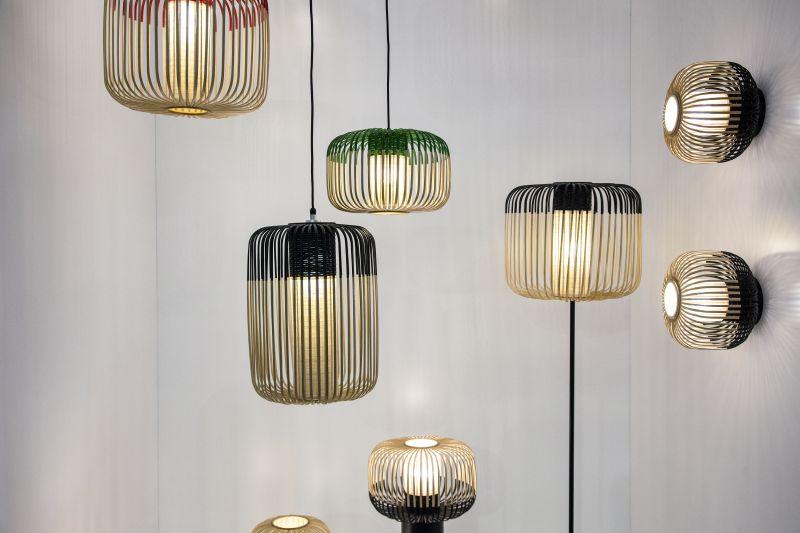 Beautiful bamboo hanging lights