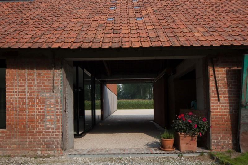 Belgium Exterior Hallway
