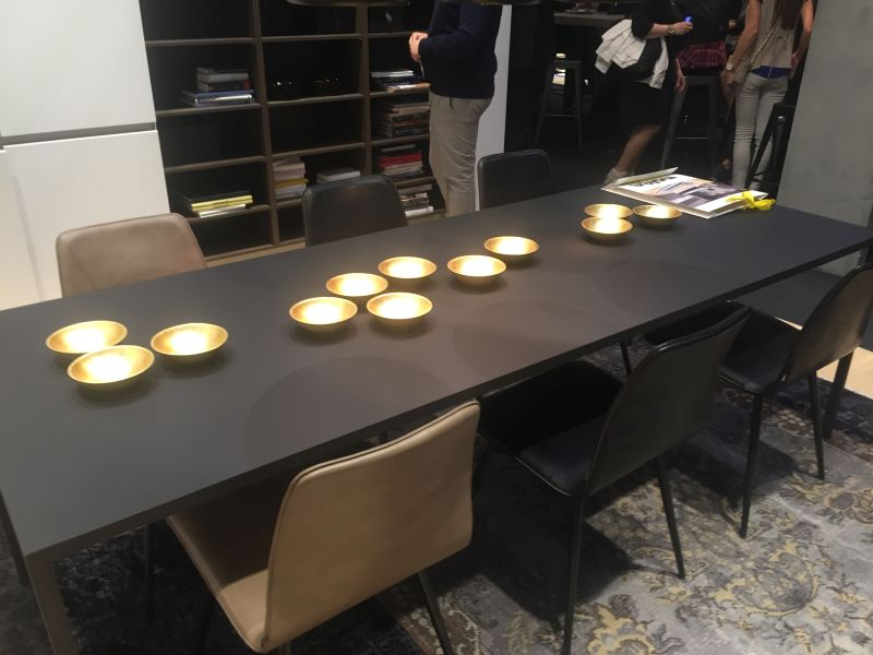 ... Black Rectangular Dining Table With Gold Accents Part 54