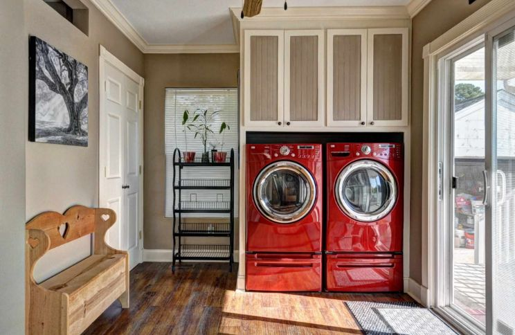 Bold washing machines for laundry room