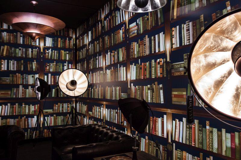 Books wallpaper design
