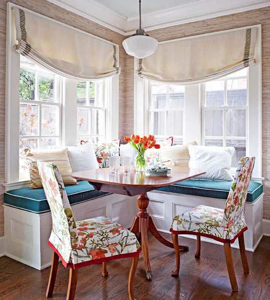 Breakfast nook cushions1