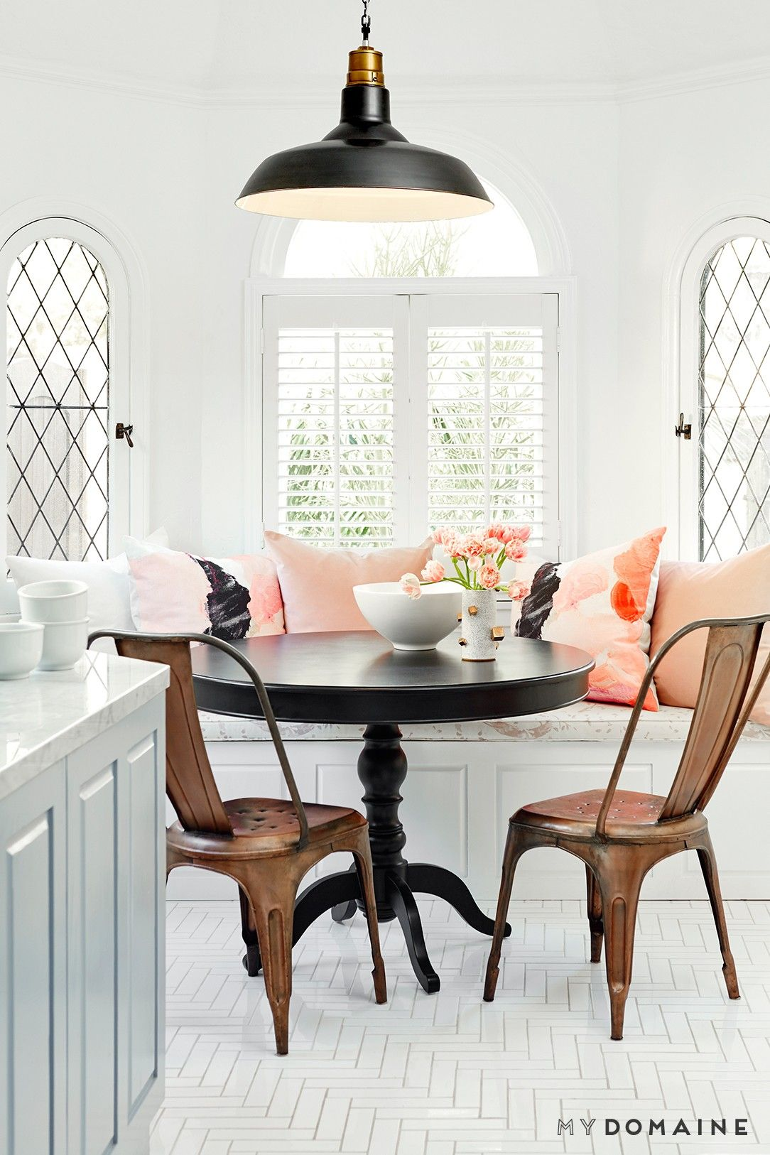 Breakfast nook cushions2