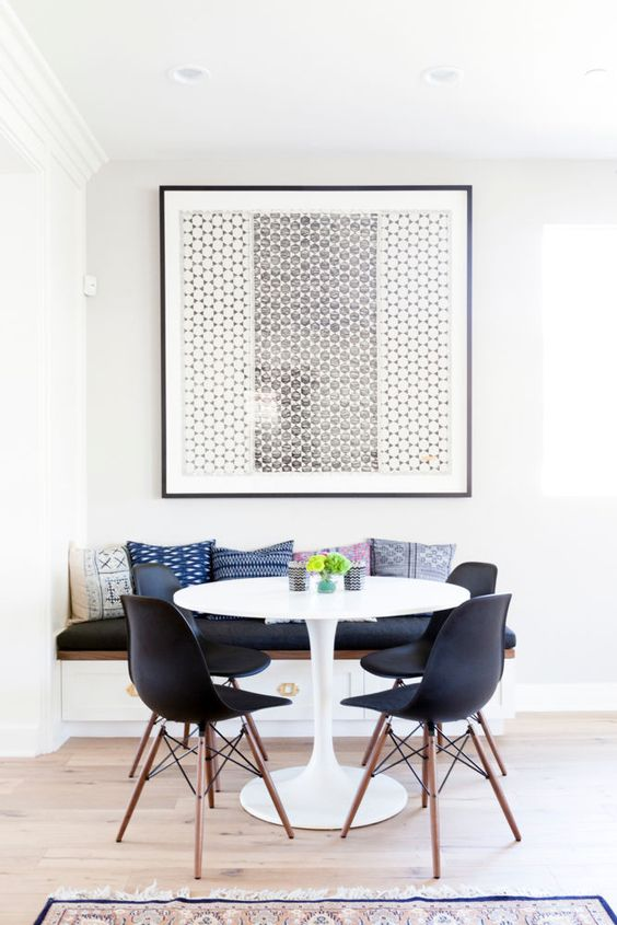 Breakfast nook statement art1