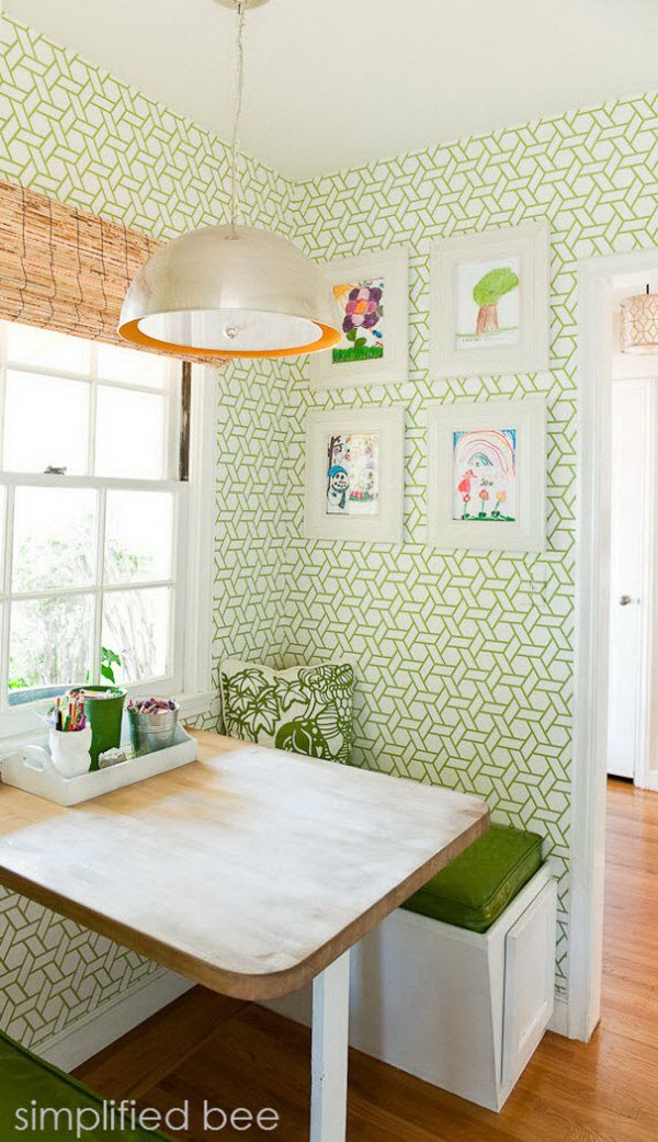 Breakfast nook wallpaper3