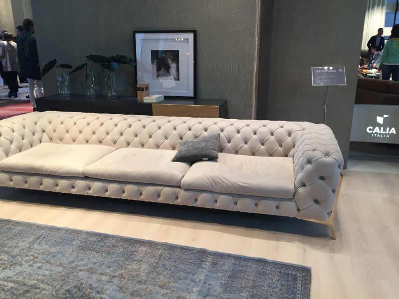 Calia Italia tufted sofa