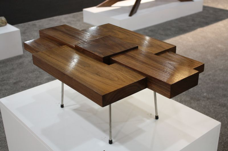 Coffe tables made from blocks