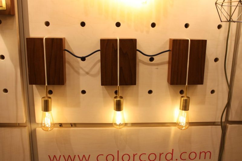 We've always hated plain electrical cords, so maybe that;s why we like the Color Cord Company so much. Pendant lights are made even better when connected with a complimentary cord. the company works with designers, manufacturers as well as DIY-ers.