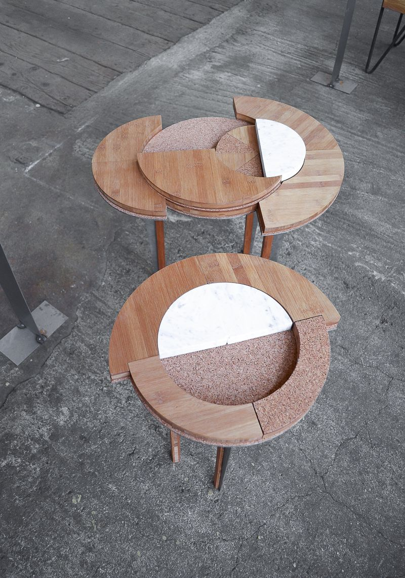 Compact Table by Roxanne Flick