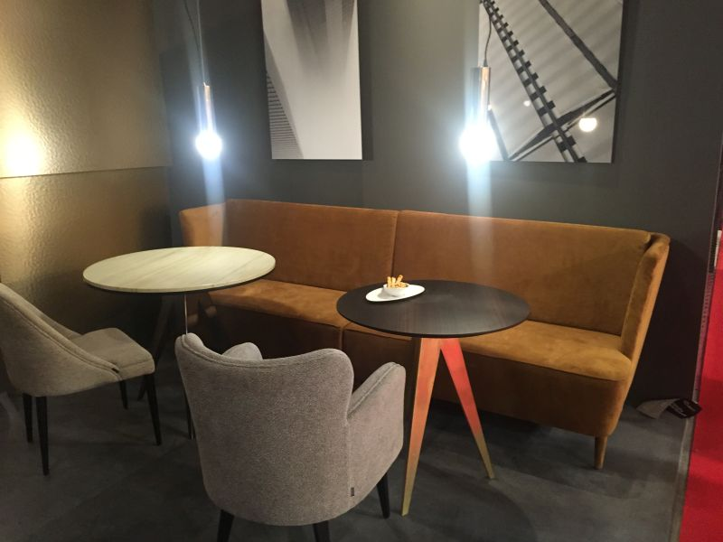 Contemporary neutra dining seating