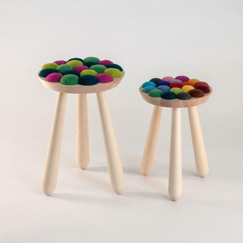 Cool colorful felt seating
