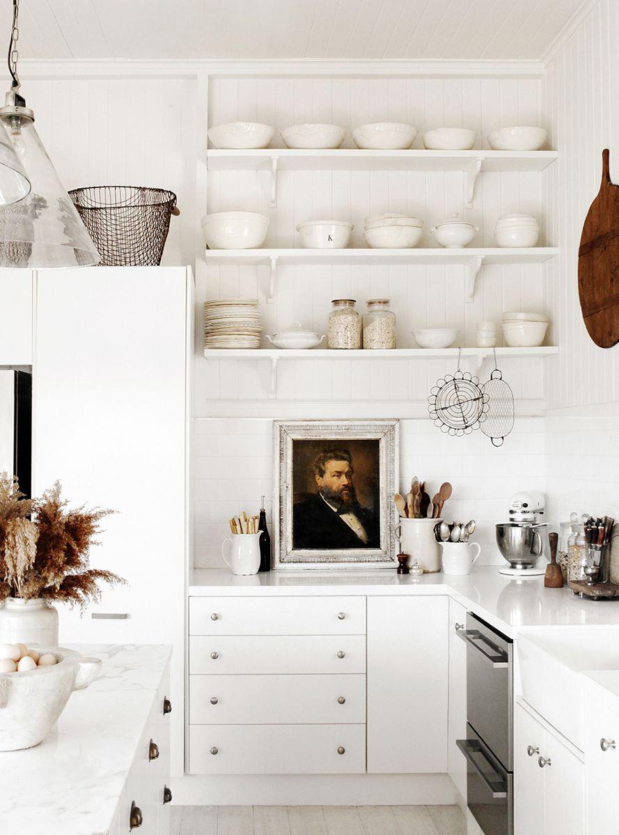 Countertop kitchen wall art