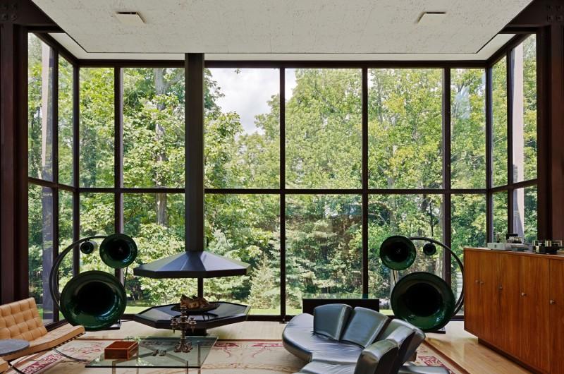 Country estate makeover design Living