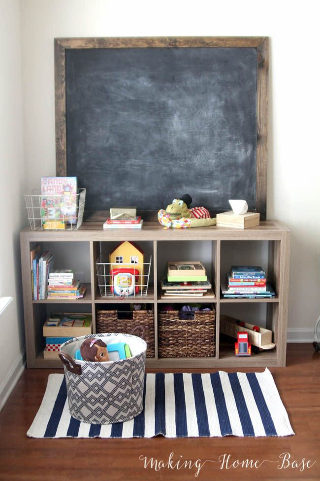 Create a living room kids area