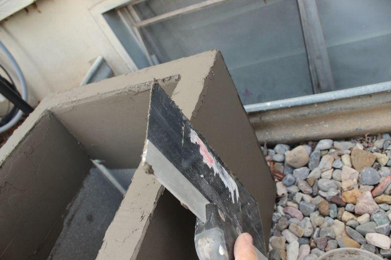 DIY Concrete Planters for Outdoor