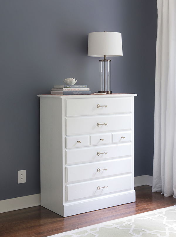 DIY Dresser Makeover with a Stenciled Top