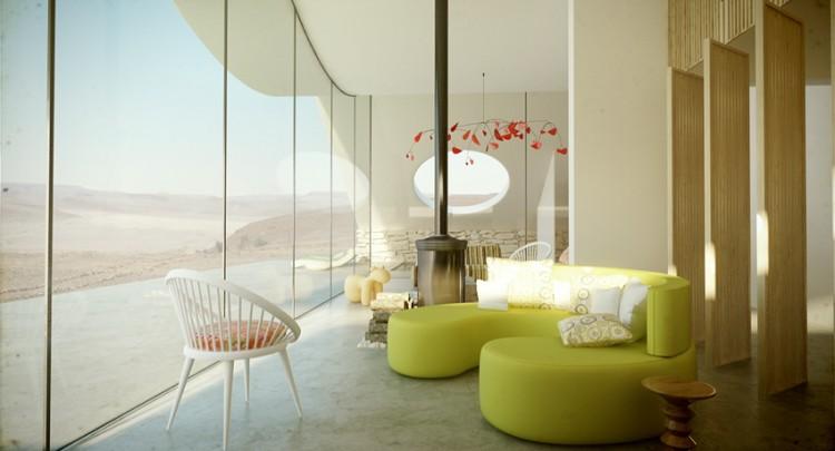 Desert Villa by Studio Aiko living