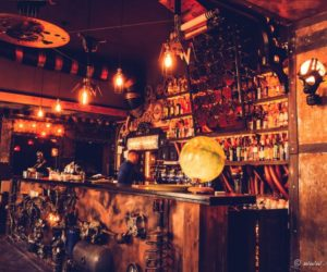 Steampunk Coffee Shop Comes To Life Through Kinetic Energy