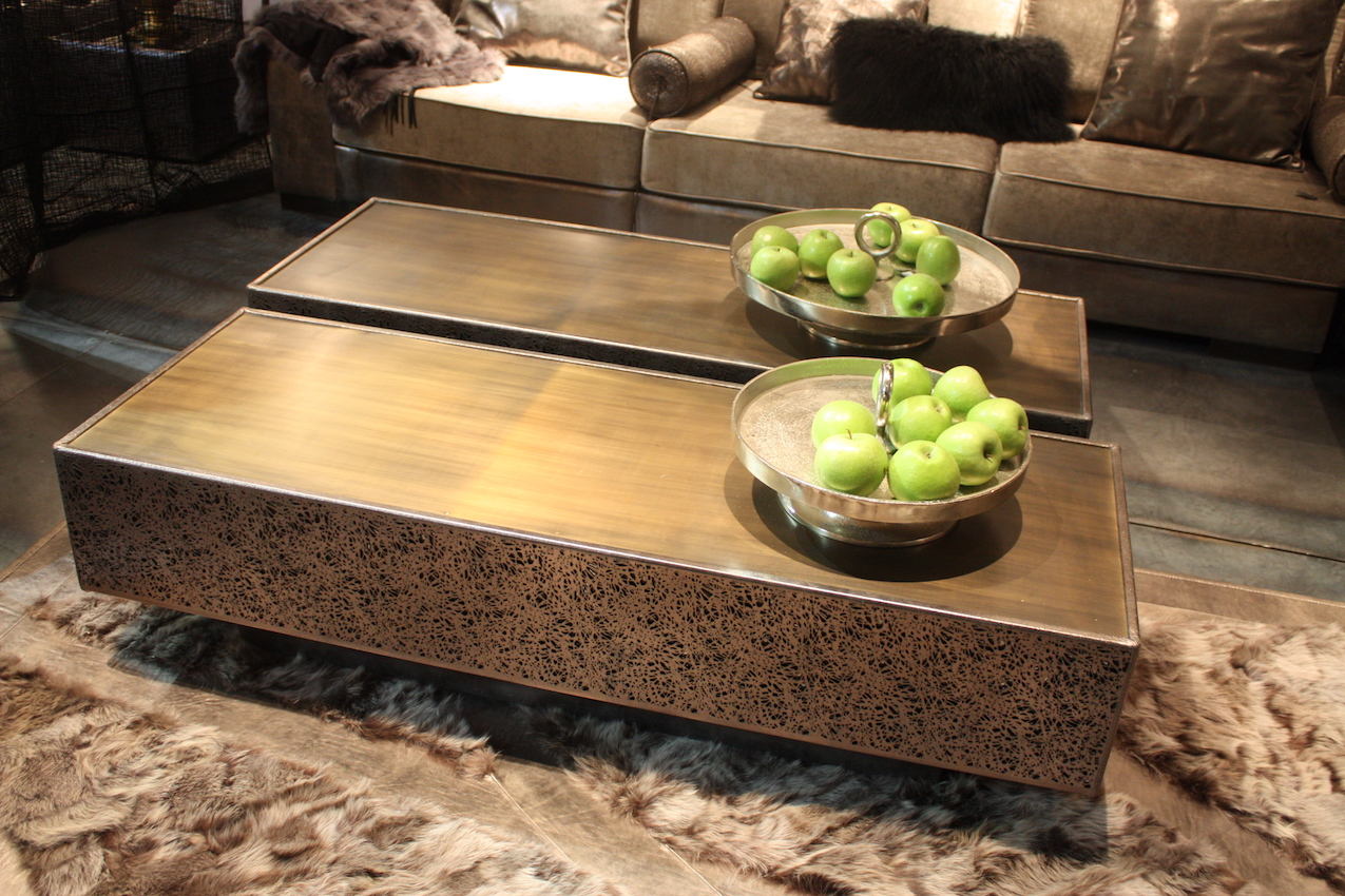New coffee table designs offer style and functionality if youre in love with a rectangular coffee table but need a larger square watchthetrailerfo