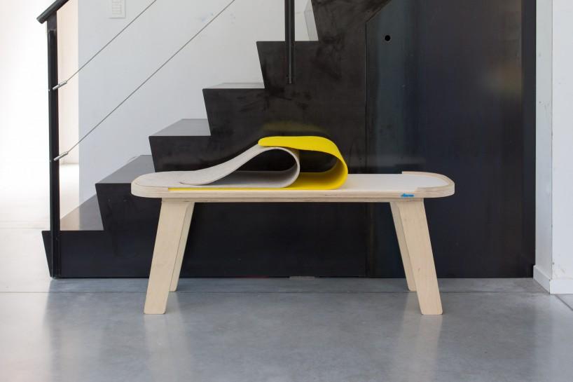 Felt bench design