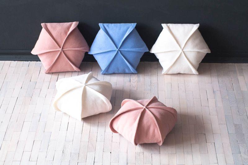 Felt pillow cases