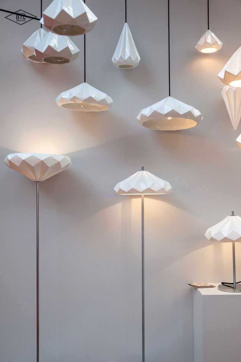 Hatton Pendant Lights have intricately beautiful bone china shades