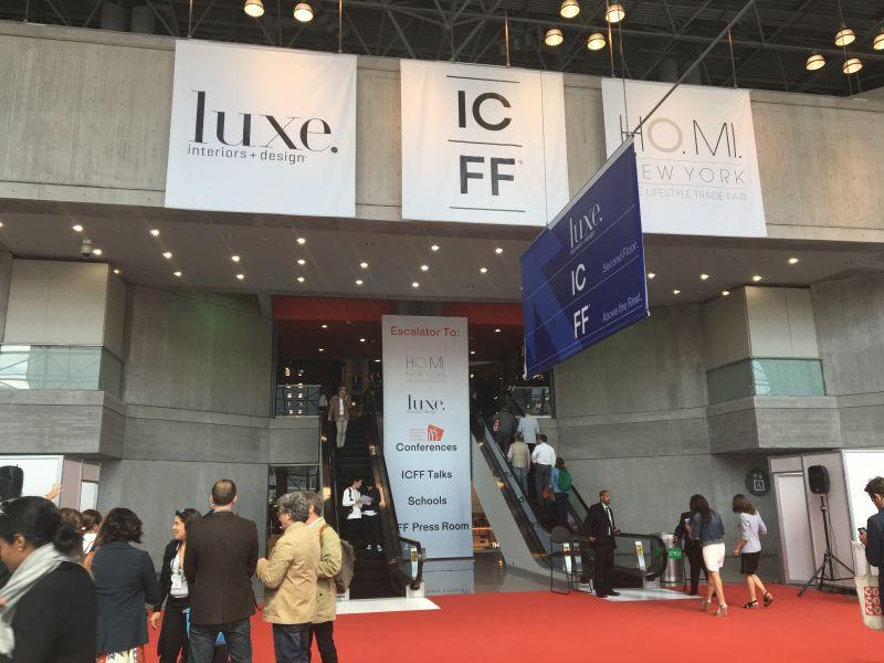 ICFF 2016 Hall entrance