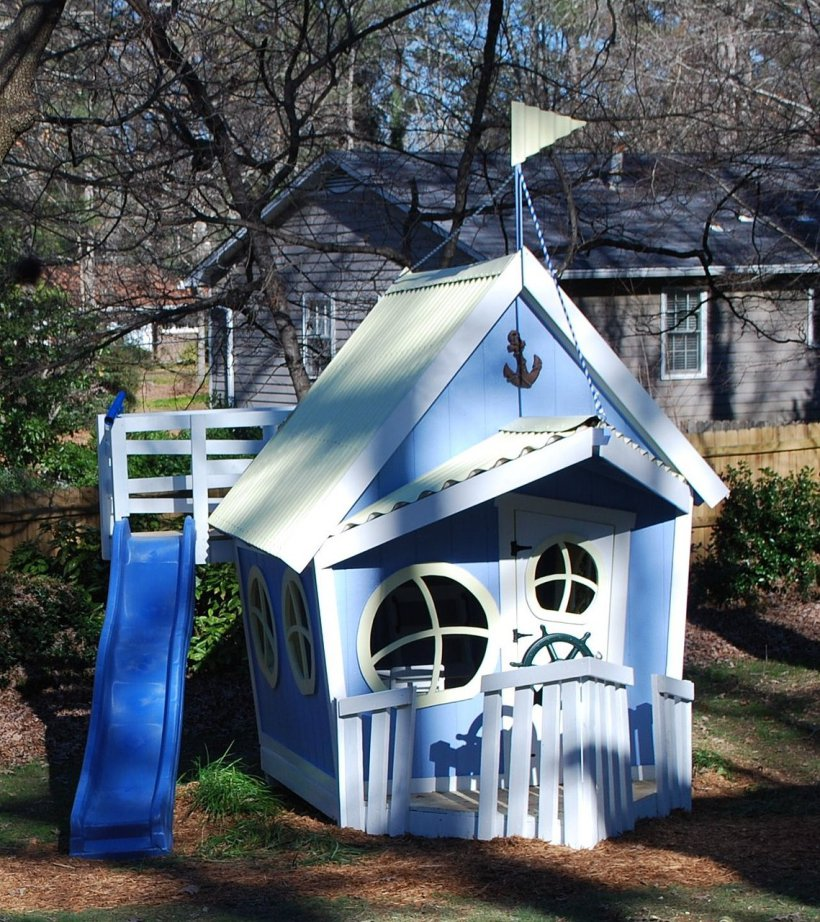 Imaginative kids playhouse