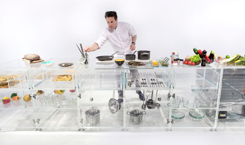 Infinity Kitchen transparent design
