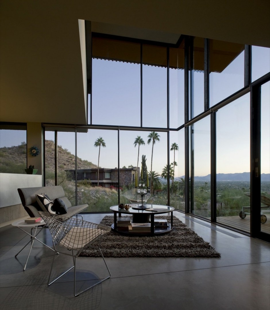 Jarson Residence by Will Bruder + Partners interior