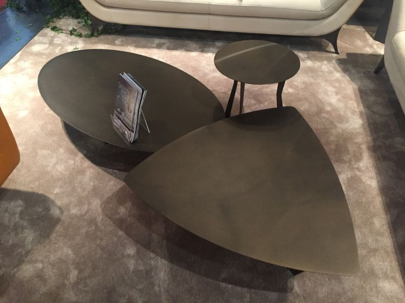 Low black coffee tables