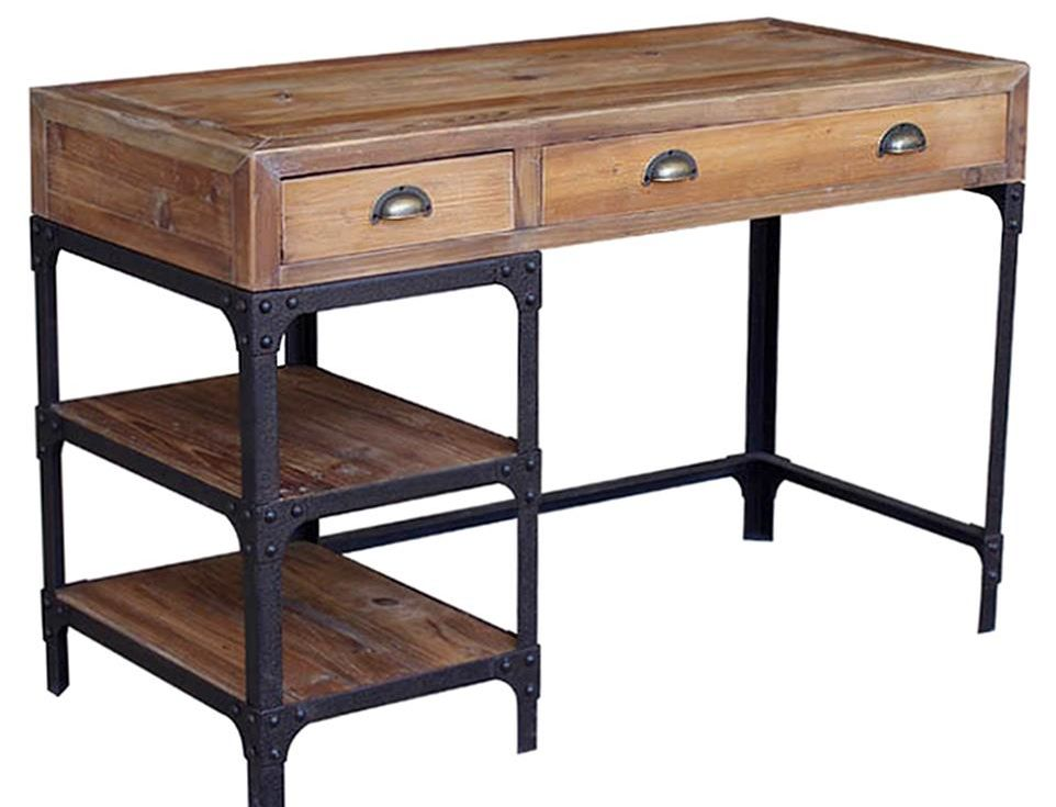 Stylish Desks With Industrial Designs And Elegant Details : Luca industrial desk from www.homedit.com size 962 x 735 jpeg 65kB