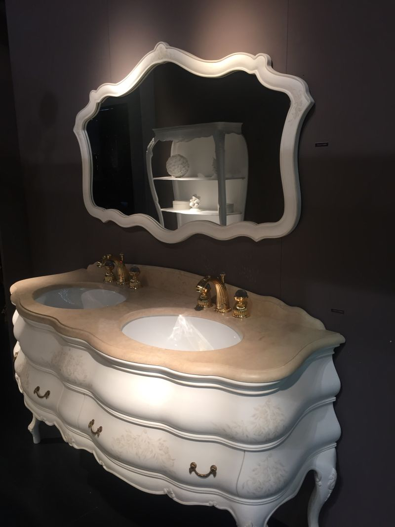 Luxury double vanity