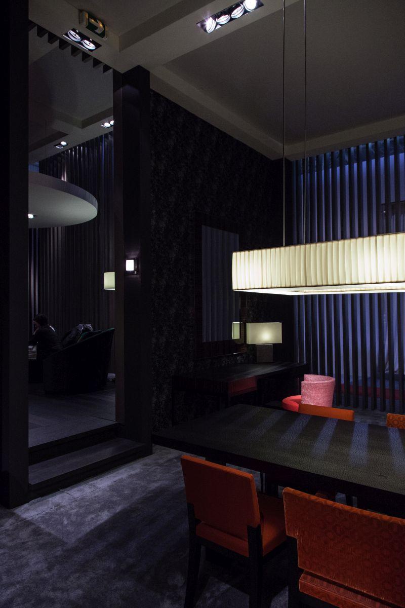 Masculine dining room design