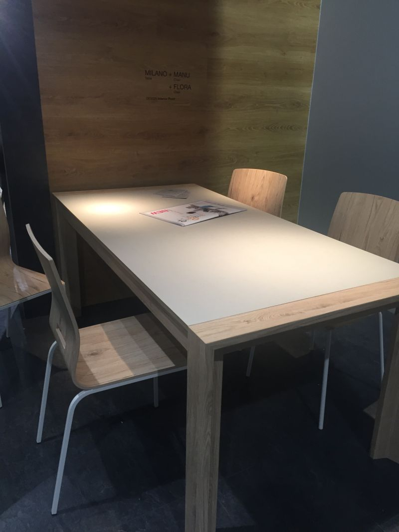 Milano table design and chairs