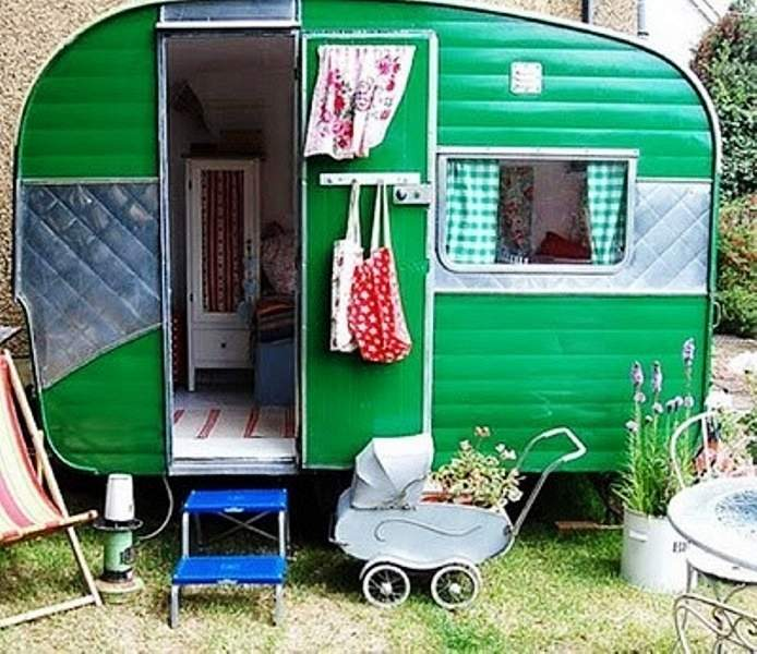 Mini rv kids playhouse