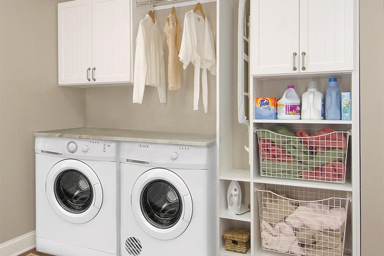 laundry furniture. mixed laundry room furniture