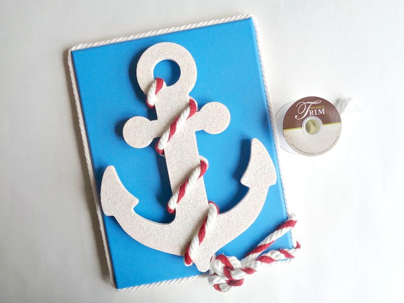 Nautical Anchor Wall Art DIY