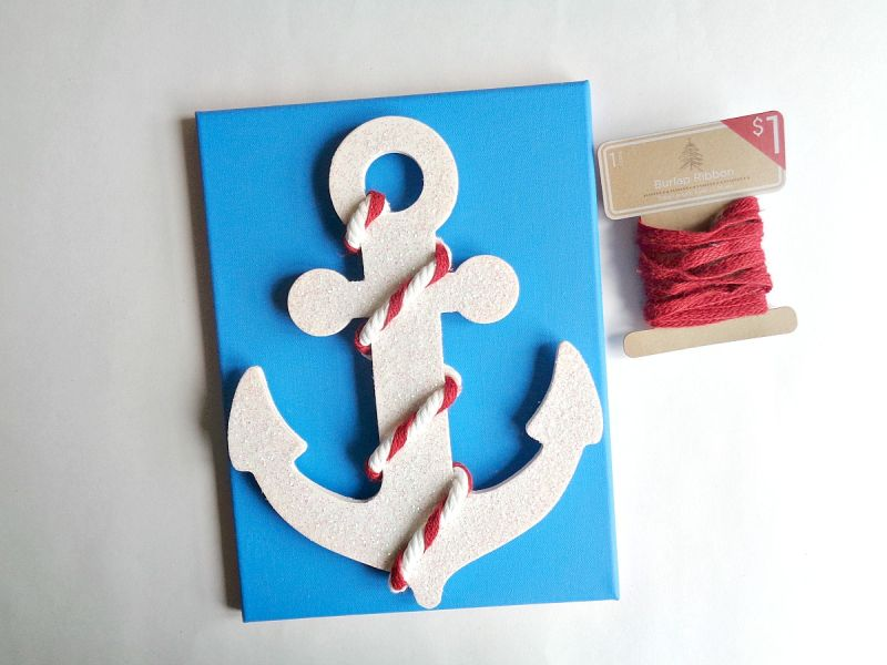 Nautical Anchor Wall Art First