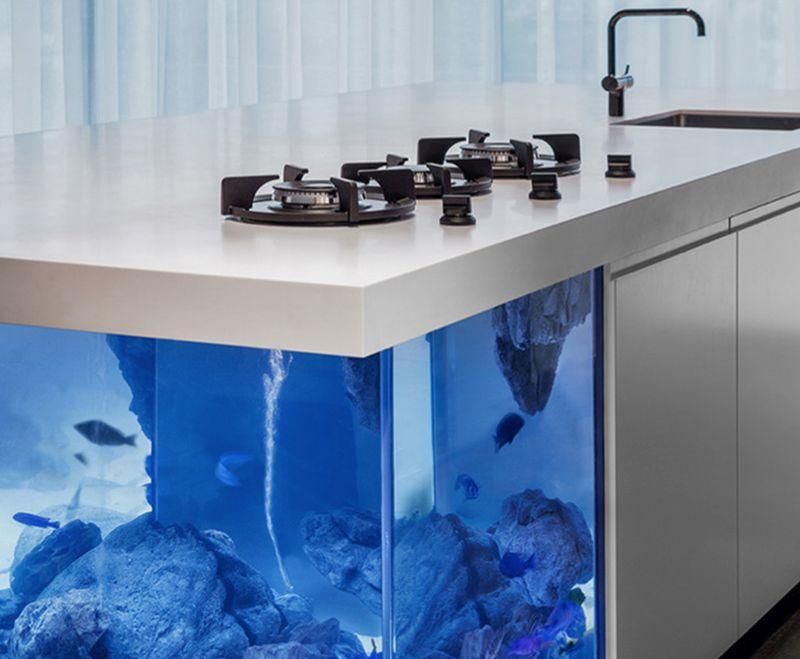 Ocean Kitchen Island corner design