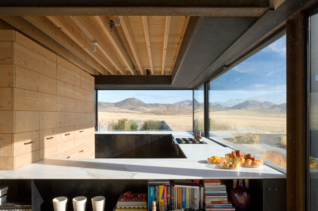 Outpost desert residence kitchen