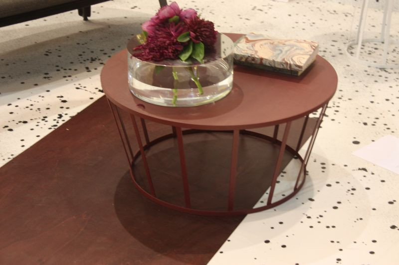 We love this round coffee table called HOLLO from Petite Friture for its airy, elegant shape and the fact that it comes in six epoxy coating colors and three different sizes.