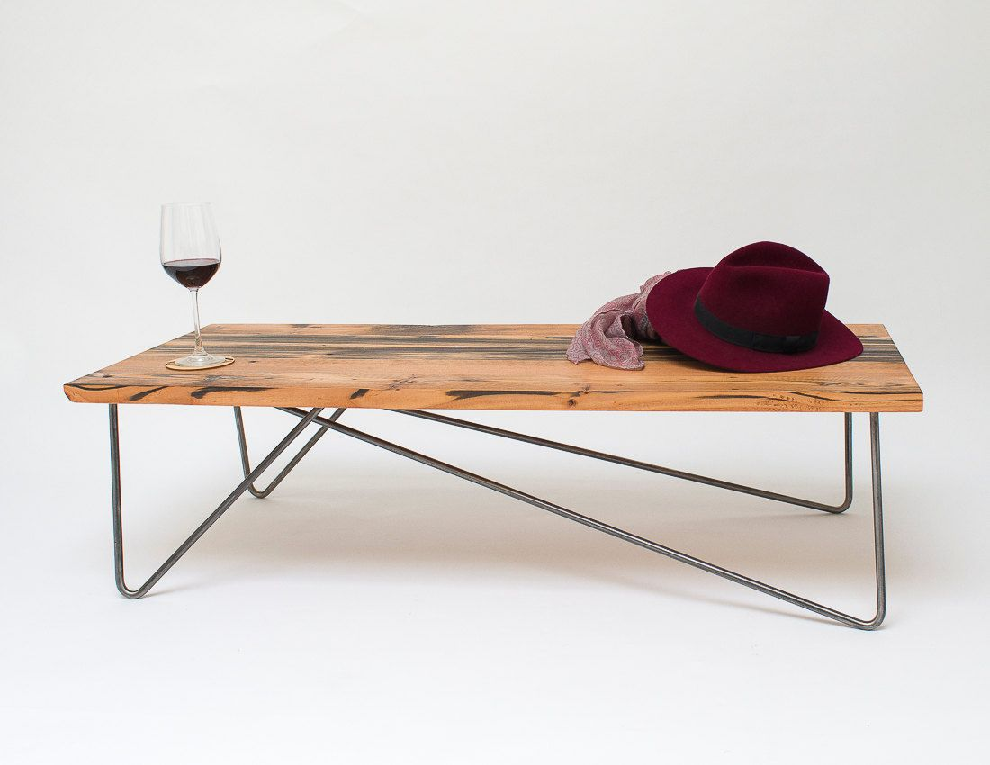 make your own reclaimed wood coffee table | Quick ...